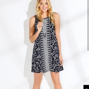 NWT Navy and White dress